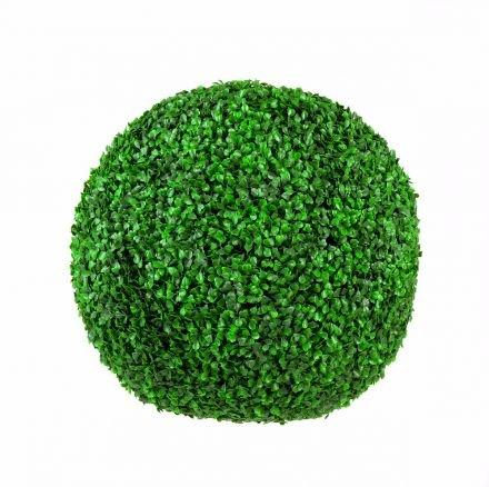 Large Box Wood Topiary Ball - 48cm Uv Stabilised