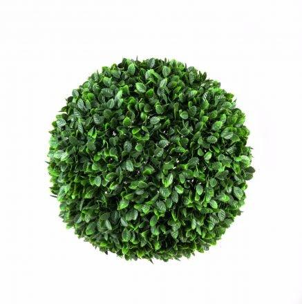 Large Rose Hedge Topiary Ball  48cm Uv Stabilised