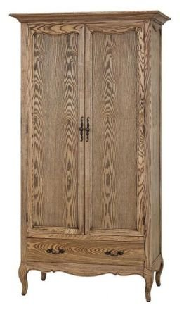 French Provincial Furniture Wardrobe with Drawers