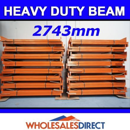Pallet Racking Beam 2743 x 120mm 2900kg Heavy Duty