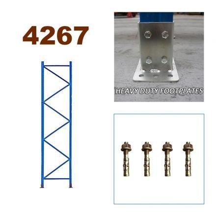 Pallet Racking Upright Frame 4267mm