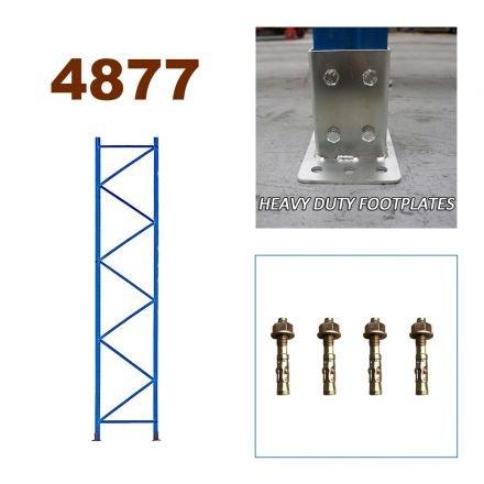 Pallet Racking Upright Frame 4877mm