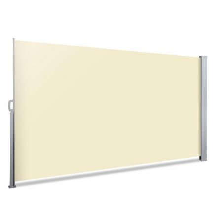 Retractable Side Awning Shade 200cm Beige