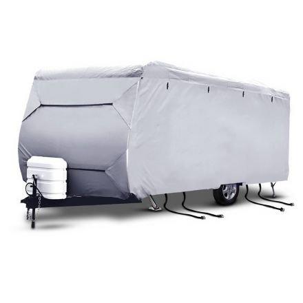 4 Layers 4 Side Open Caravan Campervan Cover Straps 22-24ft