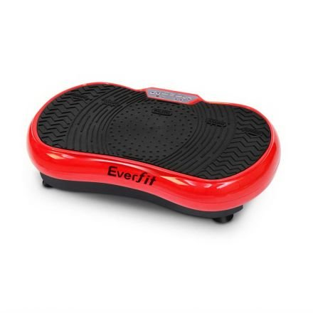 1000w Vibrating Plate With Roller Wheels - Red