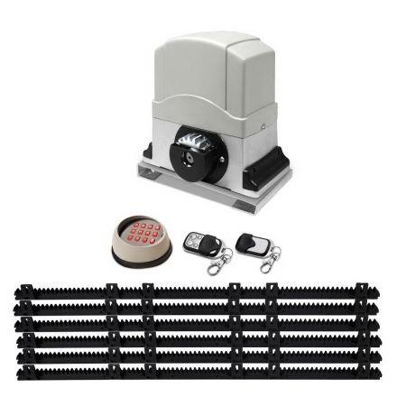Automatic Sliding Gate Opener  - 1200kg - 6m With Keypad