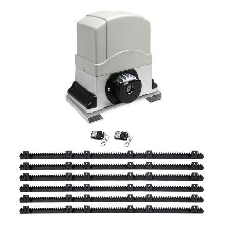 Motor Powered Auto Sliding Gate Opener W/ 6m Rail
