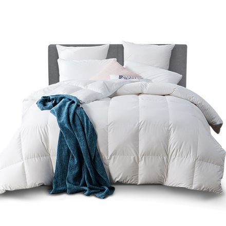 Goose Feather Down Quilt  - Super King