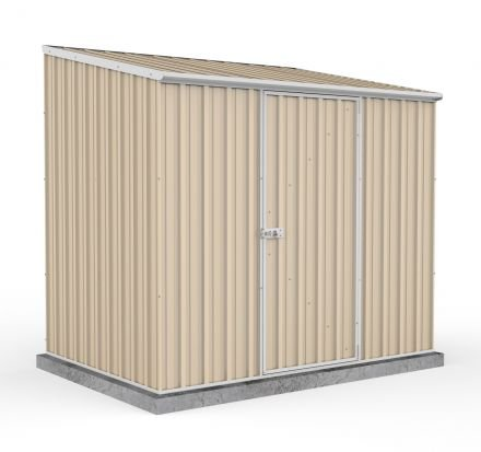 Absco Eco-nomy 2.26mw X 1.52md X 2.08mh Space Saver Garden Shed