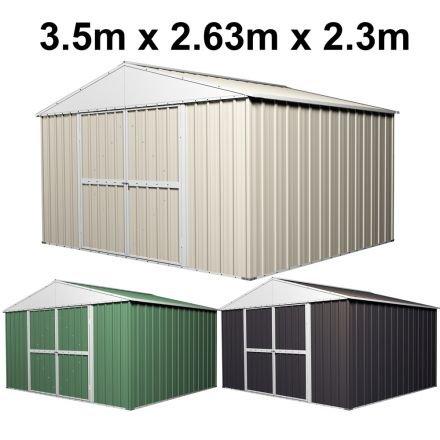 Garden Shed 3.5m x 2.63m x 2.3m