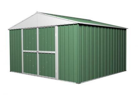 Garden Shed 3.5m x 2.63m x 2.3m Green
