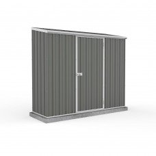 Absco 2.26mw X 0.78md X 1.95mh Space Saver Garden Shed