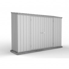 Absco 3.00mw X 0.78md X 1.95mh Space Saver Garden Shed Zincalume
