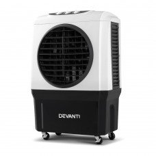 Devanti Evaporative Air Cooler Industrial Commercial Portable Water Fan Workshop