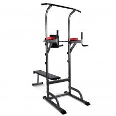 Everfit Power Tower 9-in-1 Multi-function Station Fitness Gym Equipment