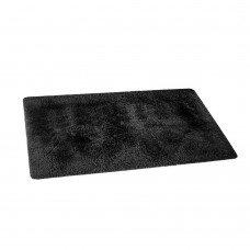 Artiss 140x200cm Ultra Soft Shaggy Rug Large Floor Carpet Anti-slip Area Rugs Black