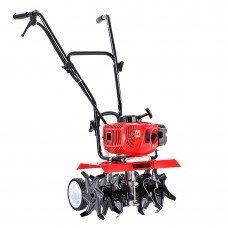 Giantz 72cc Garden Cultivator Tiller Petrol Rotary Hoe 36 Tines Rototiller