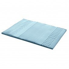 Giselle Bedding Cool Gel Memory Foam Mattress Topper Bamboo Cover 5cm 7-zone King