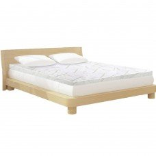 Giselle Bedding Cool Gel Memory Foam Mattress Topper Bamboo Cover Double 8cm Mat