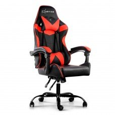 Artiss Gaming Office Chairs Computer Seating Racing Recliner Racer Black Red