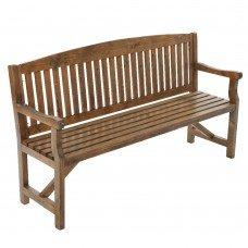 Gardeon Wooden Garden Bench Chair Natural Outdoor Furniture Décor Patio Deck 3 Seater