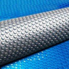 Aquabuddy 5 X 9.5m Solar Swimming Bubble Pool Cover - Blue
