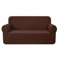 Artiss High Stretch Sofa Cover Couch Protector Slipcovers 3 Seater Coffee