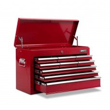 9 Drawers Tool Box Chest Red