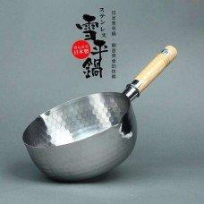 Yoshikawa Stainless Yukihira Saucepan 22cm  Yh6754