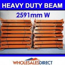 Pallet Racking Beam 2591 x 100mm 2400kg Heavy Duty
