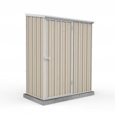 Absco Eco-nomy 1.52mw X 0.78md X 1.95mh Space Saver Garden Shed