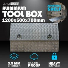 Aluminium UteToolBox2.5mm 1200x500x700mm Side Opening Vehicle Storage