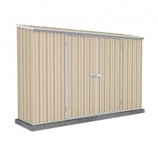 Absco Eco-nomy 3.00mw X 0.78md X 1.95mh Space Saver Garden Shed