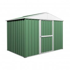 Garden Shed 2.63m x 1.74m x 2.1m Gable Roof Green
