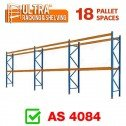 ULTRA Pallet Racking 18 Space Package