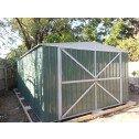 Double Barn Door Garage Shed 3.5m x 6m x 2.3m customers
