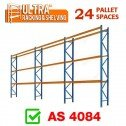 ULTRA Pallet Racking 24 Space Package