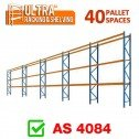 ULTRA Pallet Racking 40 Space Package