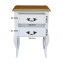 FRENCH-PROVINCIAL-BEDSIDE-LAMP-TABLE-2-DRAWERS-WHITE-DRAWERS-1DIMENSIONS