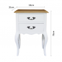 FRENCH-PROVINCIAL-BEDSIDE-LAMP-TABLE-2-DRAWERS-WHITE-OVERALL-1DIMENSIONS