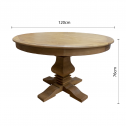 FRENCH-PROVINCIAL-ELM-EXTENDABLE-ROUND-DINING-TABLE-1DIMENSIONS