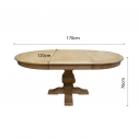 FRENCH-PROVINCIAL-ELM-EXTENDABLE-ROUND-DINING-TABLE-2DIMENSIONS