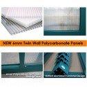 EcoPro Greenhouse 10x8 6mm Panel