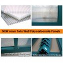 EcoPro Greenhouse 24x8  6mm Panel