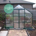 EcoPro Greenhouse 19x8 installed