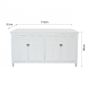 HAMPTONS-SIDEBOARD-BUFFET-CABINET-WHITE-1DIMENSIONS