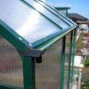 EcoPro Greenhouse 24x8 gutter