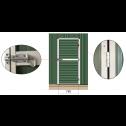 Roller Door Garage Shed 3.4m x 6m x 3m (Gable) door details
