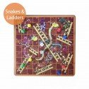 10 in 1 Wooden Board Game Snakes and Ladders