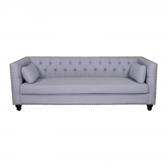 Maddy Chesterfield Upholstered 3 Seater Sofa Lounge